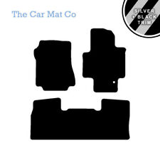 Tailored Car Mat & Silver Stripe Trim for Nissan NV200 Combi Crewcab 2009 On