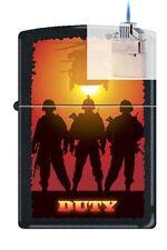 Zippo 0212 military duty helicopter Lighter & Z-PLUS INSERT BUNDLE