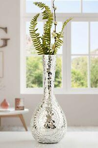 Vase Mirror Mosaic Flower Design