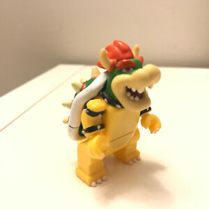 K'NEX Mario Bowser Mini Figure Super Rare