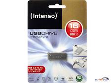 Intenso Premium Line 16gb USB stick ad alta velocità USB 3.0 ARGENTO 16 GB 3534470 OVP