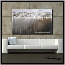 Direct from Artist Large Abstract Painting Canvas Wall Art Textured US ELOISExxx