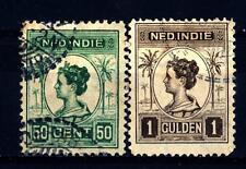 NETHERLANDS INDIES - INDIE ORIENTALI OLANDESI - 1913-1914 - Effigie della regina