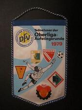 Wimpel 280 Teilnehmer zur Aufstiegsrunde DDR Oberliga 1979