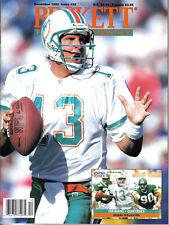 1992 Beckett Monthly Football Price Guide magazine, Dan Marino ~ Miami Dolphins