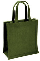 Small Natural Jute Hessian Bag (various colours available)