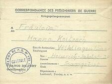 POW Camp 135 Clermont France 1946 German Prisoner of War Kriegsgefangenenpost 13