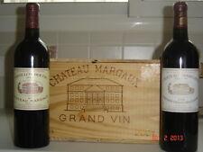 CHATEAU MARGAUX 2004 & PAVILLON ROUGE 2004: DEUX BOUTEILLES PARFAITES