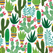 Sedona Cactus Tissue Paper # 595 - 10 Large Sheets