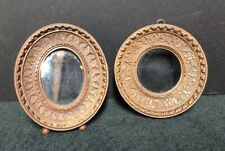 New ListingPair of Carved Wood Antique Miniature Picture Frames