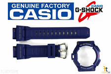 CASIO G-9300NV-2 G-Shock Original Blue Rubber Watch BAND & BEZEL Combo