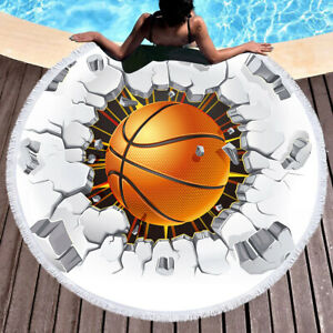 Fashion European and American style violent basketball pattern beach home carpet