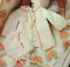 SPRINGTIME New Arrival Baby Layette/Crochet Pattern INSTRUCTIONS ONLY