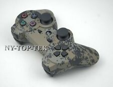 4PCS Bluetooth Wireless Game Controller Remote Control Camo Camouflage For PS3