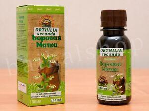 Borovaya Matka 100% Orthilia secunda tincture 100 ml Infertility Endometriosis