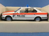 SCHABAK 1150 - BMW 535i - POLIZEI - Kantonspolizei Zürich - 1:43 in OVP -Schweiz