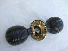 wooden door handles ( restored )  LARGE beehive