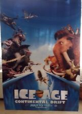 ICE AGE 4 CONTINENTAL DRIFT MOVIE POSTER RARE ORIGINAL LENTICULAR 27x40