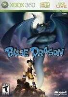 Blue Dragon Xbox 360/Xbox One Game Dor T-kids Rpg Collectible Complete 1