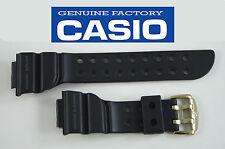 CASIO original rubber WATCH BAND STRAP BLACK GW-225A-1J DW-8200 GW-200 GW-200TC