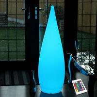 Grand Décorative LED Sol Lampe 120cm sans Fil Lumière Couleur Changeante Par