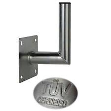10 - 15 cm Wandhalter ALU Aluminium TÜV Wandabstand Wandhalterung SAT Antenne