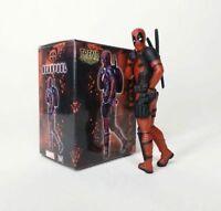 Decoration Deadpool  legend Marvel Figure funny Cute 8cm  FREE SHIPPING