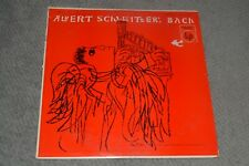 Albert Schweitzer: Bach Volume VI~Columbia ML 5043~Classical~FAST SHIPPING!!