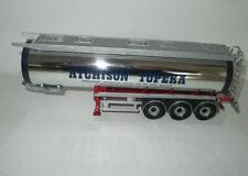 1.50 Corgi Heavy Haulage Atchison Topeka Chrome Tanker Trailer For Code3