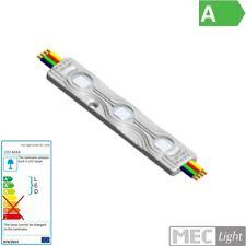 Reklamen LED Modul 12V 3er RGB SMD5050 0,72W 180° IP65 90x15x6mm Lichtwerbung