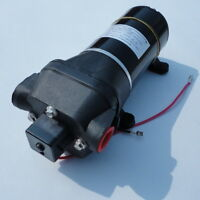 High Pressure Water Pump 12 V DC 40 PSI 4.5 GPM. Fittings Replace Flojet Sea