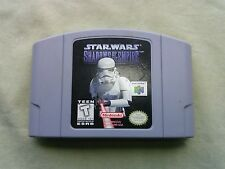 Star Wars: Shadows of the Empire Nintendo 64, 1996 N64 cartridge tested