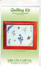 Quilling Kit Pretty Poises #281 Paper Lake City Craft Critters Flowers Filigree