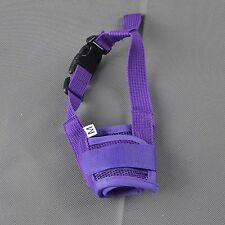 Anti Barking Dog Muzzle fSmall Large Dogs Adjustable Pet Mouth Muzzles for Dogs