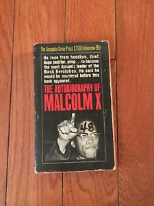 THE AUTOBIOGRAPHY OF MALCOLM X - 1966 FIRST PRINTING - RARE - FREE SHIPPING