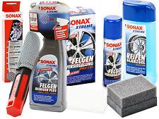 SONAX XTREME 4-teiliges Felgenreiniger-Set Felgenreinigung Felgenpflege-Set