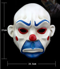 High-grade Resin Joker Bank Robber Mask Clown Batman Dark KnightProp Masquerade