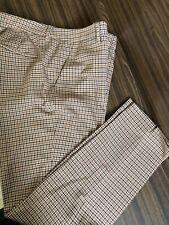 Tartan Womans Trousers Check