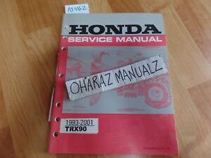 1993 1994 1995 1995 1996 1997 1998 1999 2000 2001 HONDA TRX90 Service Manual OEM