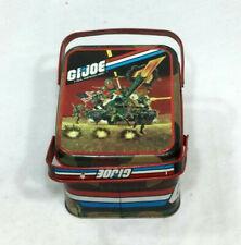 1982 Vintage GI Joe ARAH Cheinco Metal Tin Lunch Box RARE Limited Issue FREESHIP