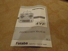 FUTABA SKYSPORT 4YF INSTRUCTION MANUAL - 1M23N11402