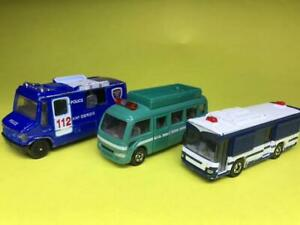 Tomica Rare Police Vehicle Discontinued Set Minicar