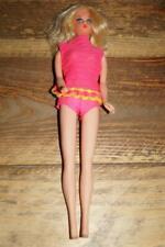 Vintage Talking Barbie Blonde in Original Swimsuit - TNT - Bend Leg BL