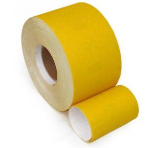 Schleifpapier Rollenpapier Handschleifpapier Schleifmittel 50 m Rollen