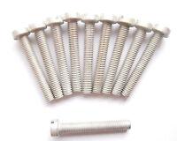 Zylinderschrauben mit Schlitz M5 x50 DIN 84 Stahl verzinkt 10 Stück M5