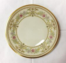"LENOX ""CASTLE GARDEN"" SALAD PLATE 8"" IVORY BONE CHINA MADE IN U.S.A."