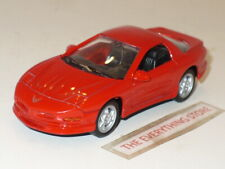 WELLY 1995 PONTIAC FIREBIRD 4.75 INCHES LONG RED NO BOX FREE SHIP