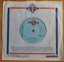 """Donna Summer, Love's Unkind 7"""", GTO Records"""