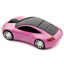 Official Motormouse Porsche Sports Car Wireless Computer Mouse - Pink