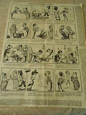 Demande en Mariage Scène Humour Print 1900